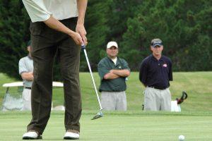 ゴルフで約1mのパットの成功率を上げる練習法とは?