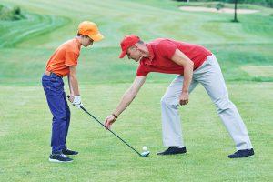 ゴルフ初心者の基本に忠実なアドレスとは