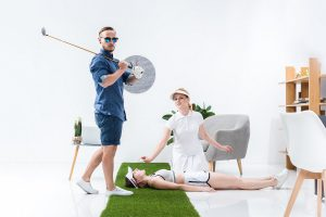 ゴルフに必要な筋力をつけるトレーニンググッズ