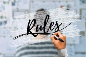 わかりにくいルールの用語を解説