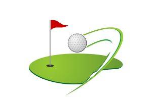 ゴルフと眼鏡について